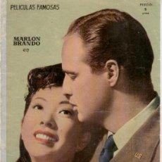 Cine: SAYONARA - ARGUMENTO Y FOTOS DE LA PELICULA DE MARLON BRANDO. Lote 26559978