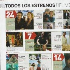 Cine: 1 EJEMPLAR REVISTA FOTOGRAMAS--NOVIEMBRE 2008. Lote 12909105