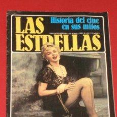 Cine: LAS ESTRELLAS, HISTORIA DEL CINE EN SUS MITOS + Nº1 MARILYN MONROE,INDISCUTIBLE SÍMBOLO SEXUAL. . Lote 26743710