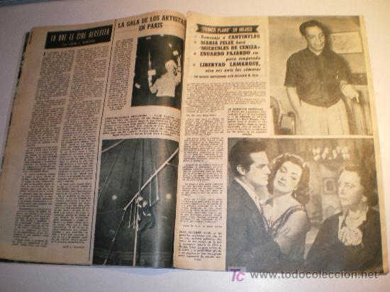 Cine: PRIMER PLANO REVISTA ESPAÑOLA DE CINEMATOS. Nº 836 MARIA - EMILIA (1957) - Foto 2 - 25832088