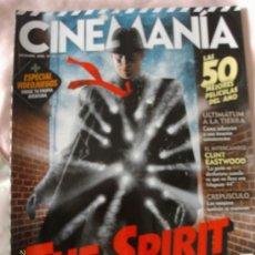 Cine: CINEMANIA - DICIEMBRE 2008. Lote 13055165