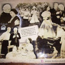 Cine: MURAL DE PRUEBAS DE FOTO MONTAJES DE ARTISTAS DE CINE :AÑOS 40,AUTENTICO DE LA EPOCA. Lote 13405914
