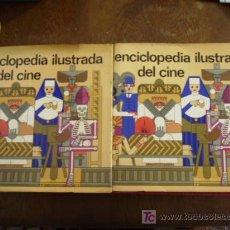 Cine: ENCICLOPEDIA ILUSTRADA DEL CINE 2 TOMOS CON SOBRE CUBIERTAS:DE LA A LA O,Y DE LA P ALA Z.. Lote 30771382