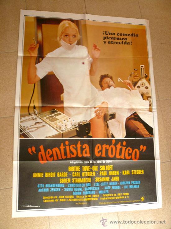 CARTEL POSTER CINE EL DENTISTA EROTICO (Cine - Revistas - Papeles de cine)