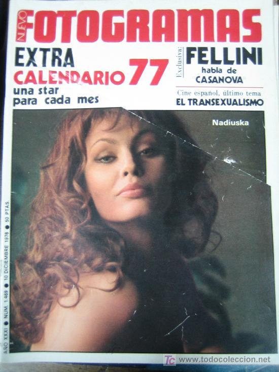 FOTOGRAMAS Nº 1469 EXTRA - NADIUSKA - FELLINI (Cine - Revistas - Fotogramas)