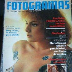 Cine: FOTOGRAMAS Nº 1459 - MARY FRANCIS. Lote 13427929