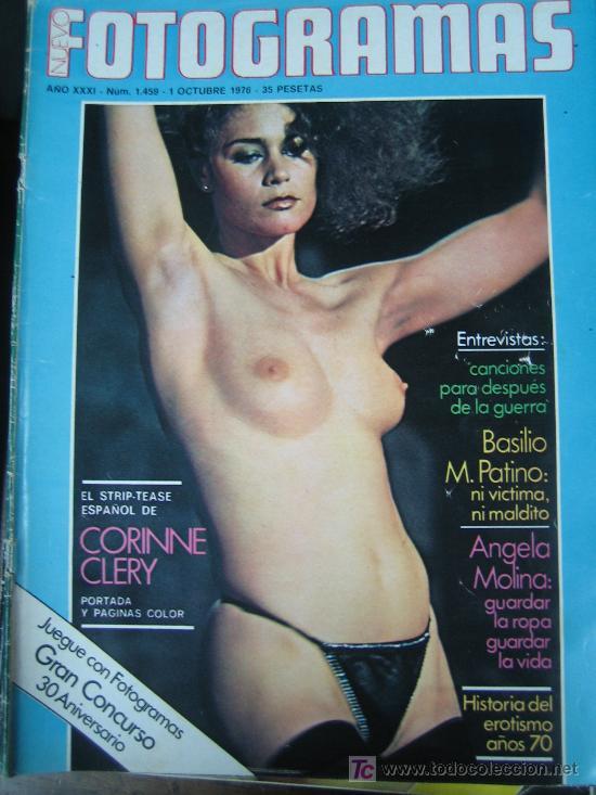 FOTOGRAMAS Nº 1459 - CORINNE CLERY - ANGELA MOLINA (Cine - Revistas - Fotogramas)