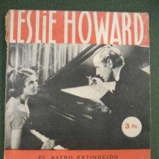 Cine: INTERMEZZO DE LESLIE HOWARD E INGRID BERGMAN - EDICIONES FRISO. Lote 21700511