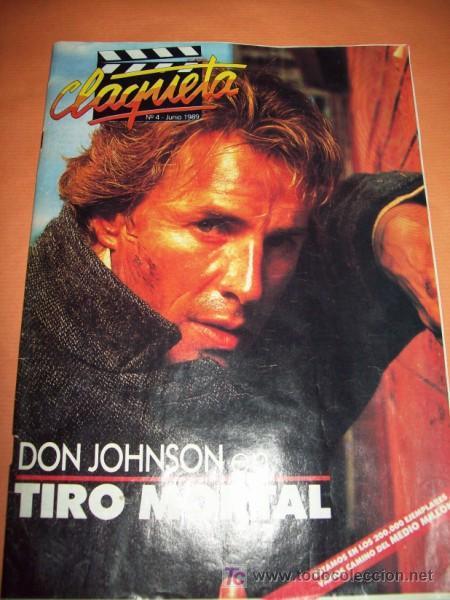 REVISTA CLAQUETA Nº 4 JUNIO 1989 (Cine - Revistas - Claqueta)