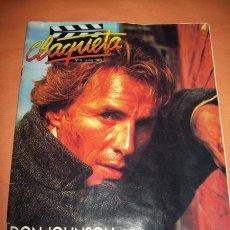 Cine: REVISTA CLAQUETA Nº 4 JUNIO 1989. Lote 13578739