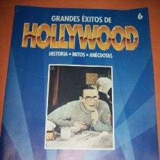 Cine: GRANDES ÉXITOS DE HOLLYWOOD Nº 6 PLANETA AGOSTINI. Lote 23358157