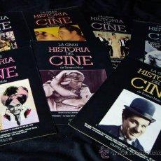 Cine: LOTE DE FASCICULOS LA GRAN HISTORIA DEL CINE DE TERENCI MOIX-ABC. Lote 26764432
