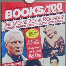 Cine: HT13 MARILYN MONROE BOOKS 100 REVIEWS REVISTA AMERICANA AGOSTO 1984. Lote 13855880