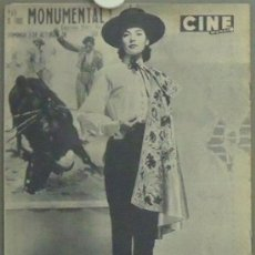 Cine: IN75 NATALIE WOOD JOAN FONTAINE REVISTA CINE MUNDO Nº 306 1958. Lote 13855986