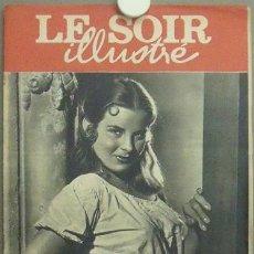 Cine: IN76 JEAN PETERS LE SOIR ILLUSTRE REVISTA BELGA Nº 863 1949. Lote 13856042