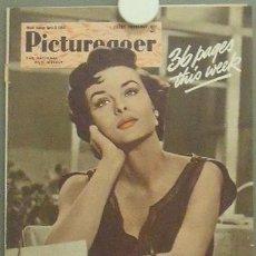 Cine: IN78 JEAN PETERS PICTUREGOER REVISTA INGLESA ABRIL 1954. Lote 13858902