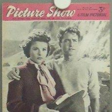 Cine: IN79 JEAN PETERS PICTURE SHOW REVISTA INGLESA Nº 1676 1955. Lote 13858903
