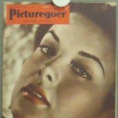 Cine: IN81 JEAN PETERS PICTUREGOER REVISTA INGLESA FEBRERO 1952. Lote 13858908