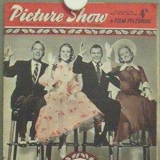Cine: IN83 GRACE KELLY FRANK SINATRA BING CROSBY AUDREY HEPBURN PICTURE SHOW REVISTA INGLESA Nº 1760 1956. Lote 13858911