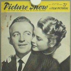 Cine: IN84 GRACE KELLY BING CROSBY PICTURE SHOW REVISTA INGLESA Nº 1673 1955. Lote 13858913