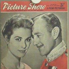 Cine: IN87 GRACE KELLY ALEC GUINNESS PICTURE SHOW REVISTA INGLESA Nº 1730 1956. Lote 13858917