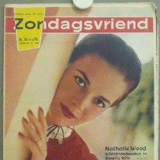 Cine: IN89 NATALIE WOOD ZONDAGSVRIEND REVISTA HOLANDESA Nº 34 1959. Lote 13858921