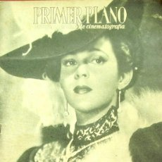 Cinéma: SOFIA ALVAREZ PRIMER PLANO SPANISH MAGAZINE 1946 Nº281 SPAIN. Lote 13947606