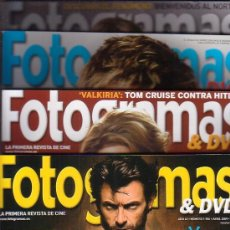 Cine: FOTOGRAMAS REVISTAS DE CINE - LOTE DE 5 EJEMPLARES ( AÑO 2009 ). Lote 14187042
