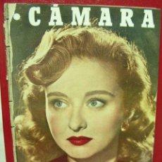Cine: + CINE, REVISTA CAMARA 150, AÑO 1949, MARIA ASQUERINO, ERROL FLYNN, FELIX FERNANDEZ, CELESTE HOLM. Lote 14194364