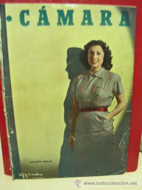 + CINE, REVISTA CAMARA 194, AÑO 1951, AMPARO RIVELLES, BALARRASA, JANE RUSSEL, JOHN MARBURTON (Cine - Revistas - Cámara)