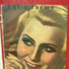 Cine: + RADIOCINEMA 101, AÑO 1944 ESTRELLITA CASTRO, CAPERUCITA ROJA, EL CLAVO, FOTO GARY COOPER 23 X 32. Lote 14194368