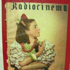 Cine: + CINE RADIOCINEMA 99, AÑO 1944, PILARIN CEREZO, MIGUEL LIGERO. Lote 28656401