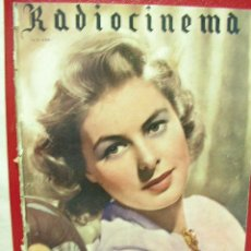 Cine: CINE RADIOCINEMA 112, AÑO 1945, INGRID BERMAN. Lote 14194392