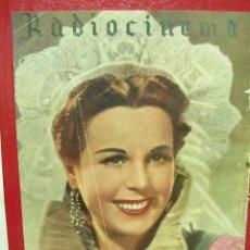 Cine: CINE, RADIOCINEMA 95, AÑO 1943, JUAN ESPANTALEON, RICARDO CALVO, BLANCA DE SILOS. Lote 14194406
