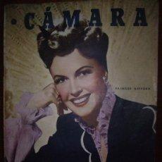 Cine: CAMARA AÑO 1946 Nº126 FT DE IRENE DUNE,DICKENS EN EL CINE 2PG,6FT,LA VIDA DE MICKEY ROOONEY2PG,7FT.. Lote 14304260
