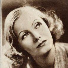 Cine: GRETA GARBO 1930 CINE HOJA REVISTA. Lote 14388021