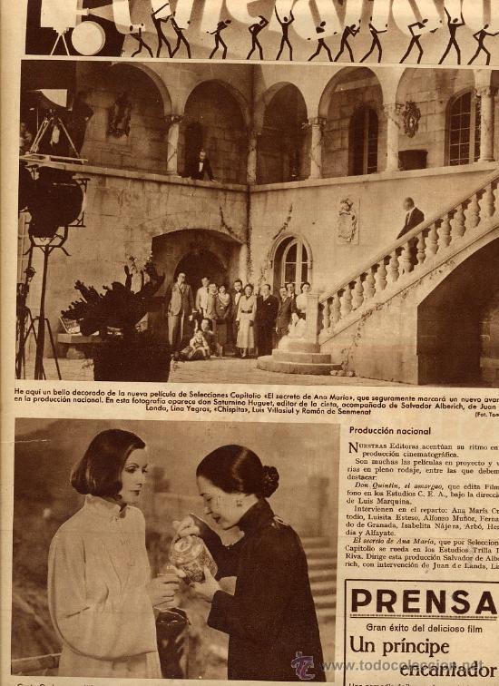 GRETA GARBO 1935 EL VELO PINTADO CINELANDIA RETAL REVISTA (Cine - Revistas - Cinelandia)