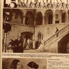 Cine: GRETA GARBO 1935 EL VELO PINTADO CINELANDIA RETAL REVISTA. Lote 14388199