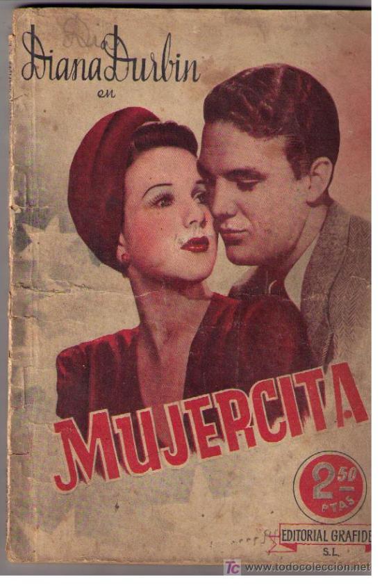 MUJERCITA. PUBLICACIONES CINEMA. EDITORIAL GRAFIDEA (Cine - Revistas - Cinema)