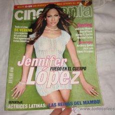 Cine: CINEMANIA JULIO 2001 Nº 70 JENIFER LOPEZ FUEGO EN EL CUERPO. Lote 14426918
