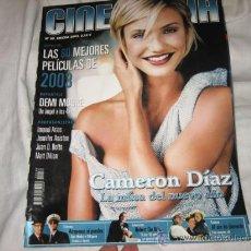 Cine: CINEMANIA ENERO 2003 Nº 88 CAMERON DIAZ LA MUSA DEL NUEVO AÑO. Lote 14427074