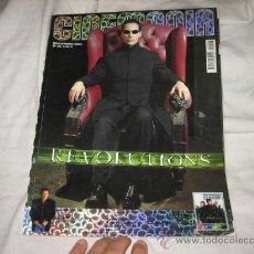 Cine: CINEMANIA NOVIEMBRE 2003 Nº 98 REVOLUTIONS. Lote 14427087