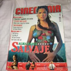 Cine: CINEMANIA OCTUBRE 2003 Nº 97 ALMA HAYEK SALVAJE. Lote 14427146