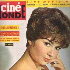 Cine: CINE MODE -Nº 1536 MARDI 1964 - DANY CARREL / LE TOUT CINEMODE 1964/ STEVE MAC QUEEN / IDOLES. Lote 15429629