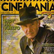Cine: REVISTA CINEMANÍA - Nº 152, MAYO 2008 - INDY HA VUELTO - HARRISON FORD - GEORGE LUCAS ........ Lote 22862238