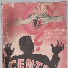 Cine: CENTRAL RÍO. PUBLICACIONES CINEMA. 64 PÁGINAS CON FOTOS DE LA PELÍCULA.. Lote 14732937