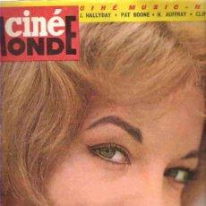 Cine: CINE MONDE - SOFIA LOREN / PETER FONDA / ALBERT FINNEY Nº 1535 1964. Lote 16127219