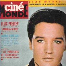 Cine: CINE MONDE - ELVIS PRESLEY Nº 1538 ** 1964 ***. Lote 19653063