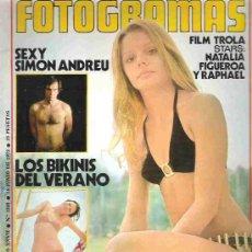 Cine: FOTOGRAMAS - Nº1235 JUNIO 1972 ** EXTRA VERANO -. Lote 19477938