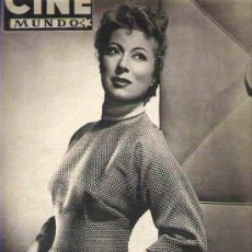 Cine: CINE MUNDO - Nº 104 ***MARZO 1954. Lote 14816748